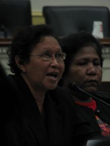 Marie Hilao-Enriquez and Marietta Corpuz